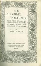 The pilgrim's progress from this world to which is to come, delivered under the similitude of a dream