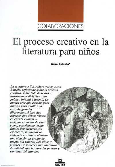 El proceso creativo en la literatura para niños