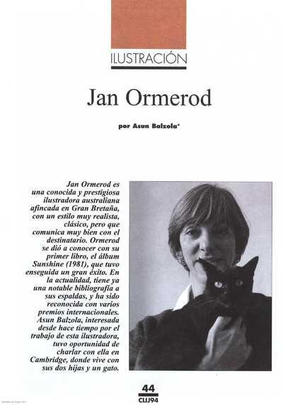 Jan Ormerod