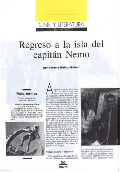 Regreso a la isla del capitán Nemo