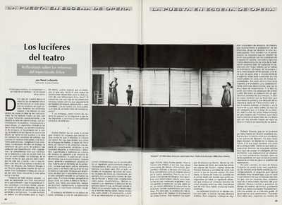 Los luciferes del teatro : reflexiones sobre las reformas del espectáculo lírico