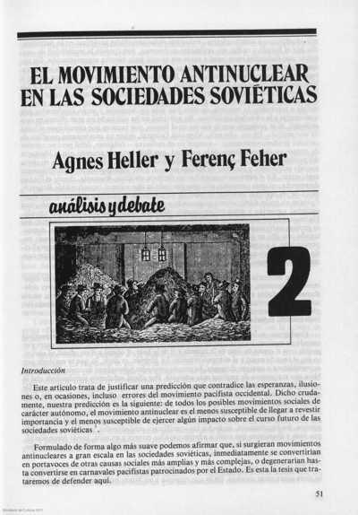 El movimiento antinuclear en las sociedades soviéticas