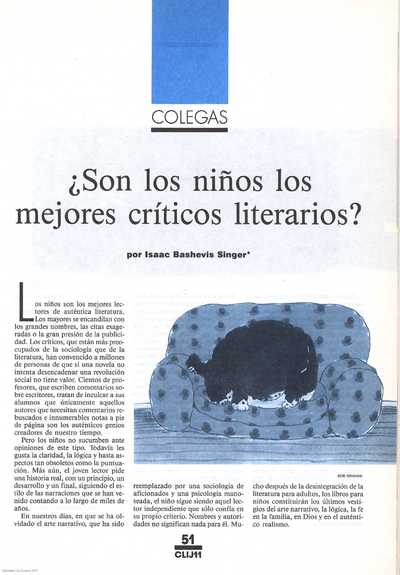 ¿Son los niños los mejores críticos literarios?