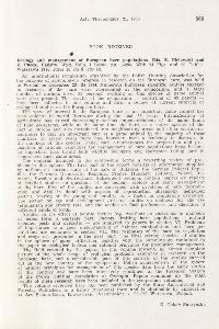 Z. Pielowski, Z. Pucek (eds), 1976: Book received. Ecology and management of European hare populations. Państw. Wyd. Roln. i Leśne, Warszawa, 286 pp