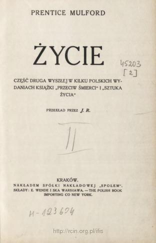 """Życie : część druga wyszłej w kilku polskich wydaniach książki """"Przeciw śmierci"""" i """"Sztuka życia"""""""