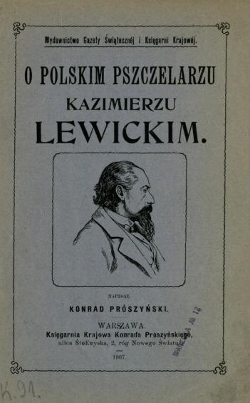 O polskim pszczelarzu Kazimierzu Lewickim