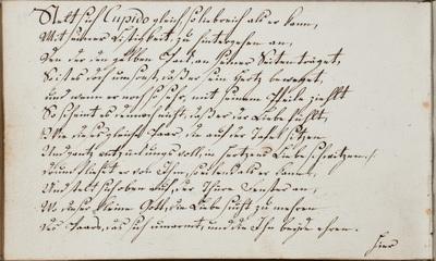 Albuminscriptie / door Johann Hartmann, voor Johann Ludwig Biller