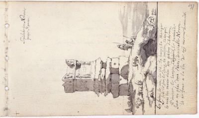 Albuminscriptie / van Jacob van der Does (1623-1673), schilder, voor het album amicorum van Jacob Heyblocq (1623-1690), rector van de Latijnse school te Amsterdam