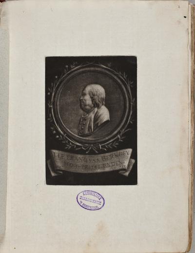Portret van Johannes le Francq van Berkhey (1729-1812) / door Rienk Jelgerhuis (1729-1806)