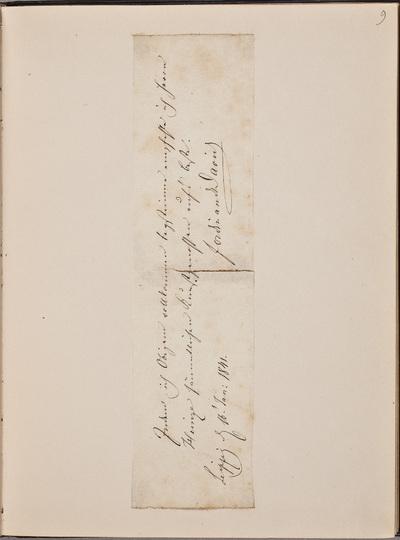 Brief van Ferdinand David (1810-1873), violist, ter aanbeveling van Gustav Adolph Heinze (1821-1904)