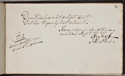 Albuminscriptie / van Herman Hesse, jurist, voor Evert Schukking (1778-1849), jurist