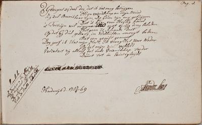 Albuminscriptie / van Alexander Lewis voor Henricus Philippus Budde (1751-1795), predikant