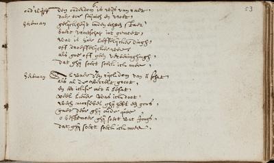 Lied / [van Gerbrand Adriaansz. Bredero] in het liedboek van J.J. van Aste