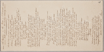 Albuminscriptie van John [Dixon (1811-1865)?], voor Johanna Justina Swaving (1816-1904)