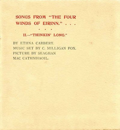 Songs from The four winds of Eirinn. II