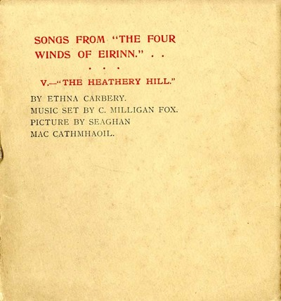 Songs from The four winds of Eirinn. V