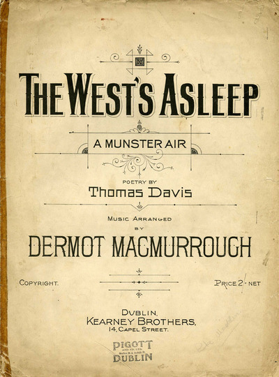 The west's asleep