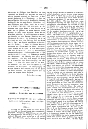Historisch-statistischer Bericht über die Juden in Franken ... (Der Orient <Leipzig>)