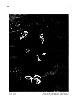 Trödler im Amsterdamer Judenviertel (Ost und West)