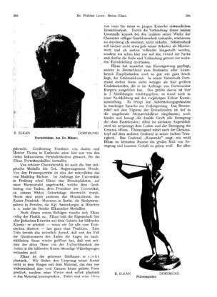 Porträtbüste des Dr. Müser (Ost und West)