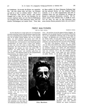 Fritz Mauthner (Ost und West)