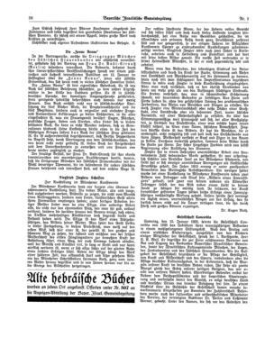 Siegfried Zieglers Schaffen : zur Ausstellung im Münchener Kunstverein (Bayerische israelitische Gemeindezeitung)
