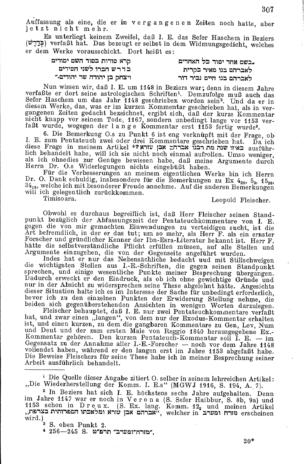 Zu Ibn Esras Exoduskommentar (Monatsschrift für Geschichte und Wissenschaft des Judentums)