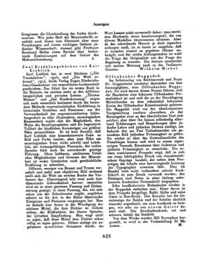 Der Morgen : Monatsschrift der Juden in Deutschland