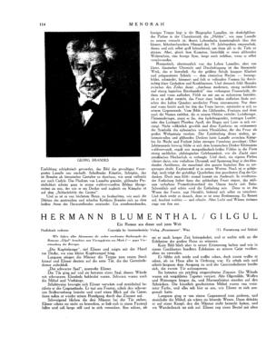 Gilgul : Ein Roman aus dieser und jener Welt (Menorah)