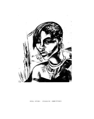Indische Arbeiterin : (Zeichnung)