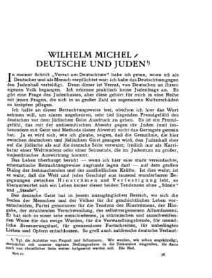 Deutsche und Juden (Der Jude <Berlin>)