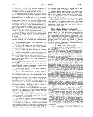 """Siehe """"Österreichische Wochenschrift""""! (Die Welt)"""
