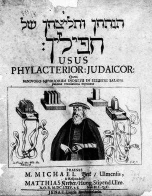 Usus Phylacteriorum Judaicorum / praeses Michael Beck et resp. Matthias Kreher