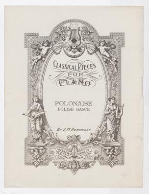 Polonaise : polish dance / arr. by J. M. Rumshisky