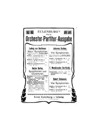 First symphony. Op. 38