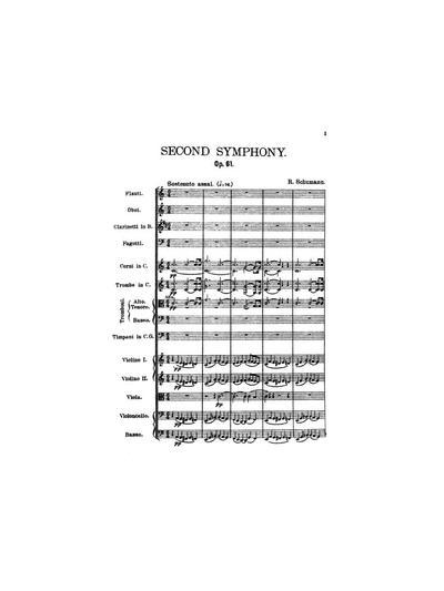 Symphonie No. 2, C dur. Op. 61