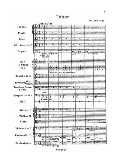 Mein Vaterland zyklus symphonischer Dichtungen - № 5 :: Tábor