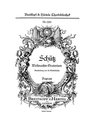 Weihnachts-Oratorium für Soli, Chor und Orgel