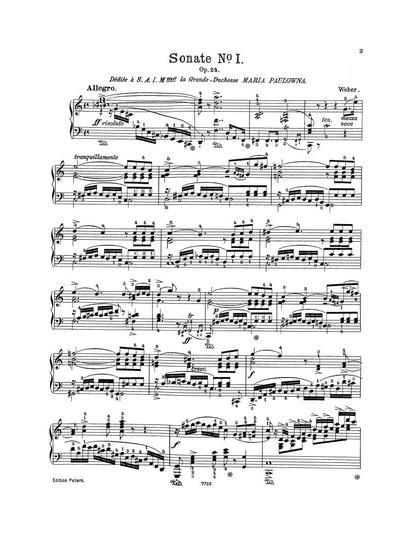 Sonate № 1. Op. 24