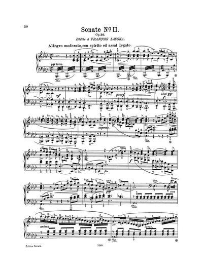Sonate № 2. Op. 39