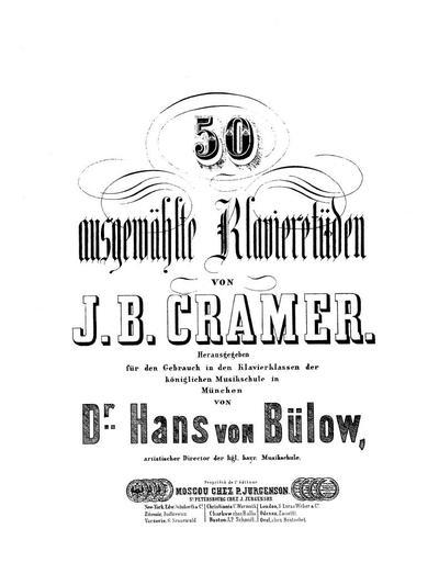 50 ausgewählte Klavieretüden