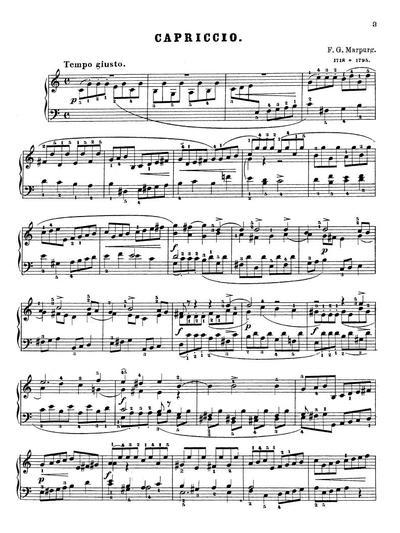 Capriccio pour piano