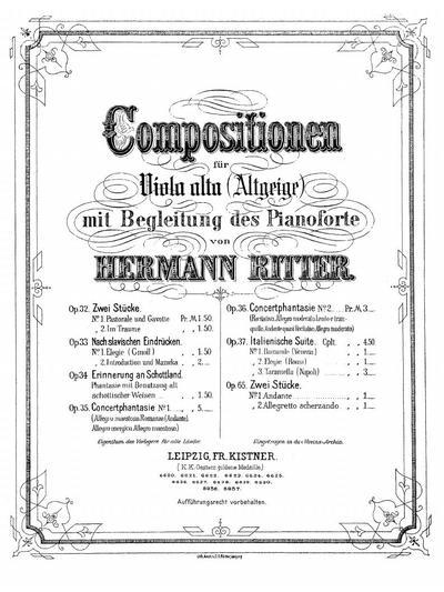 Elegie (Roma). Op. 37, № 2