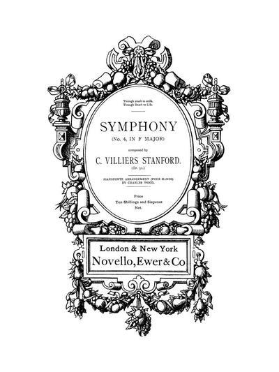 Symphony (№ 4, in F major). Op. 31