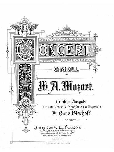 Concert c-moll. (Köch. Verz. № 491)