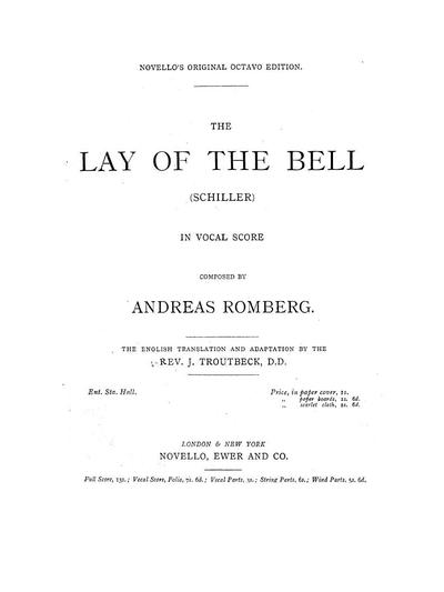The lay of the bell