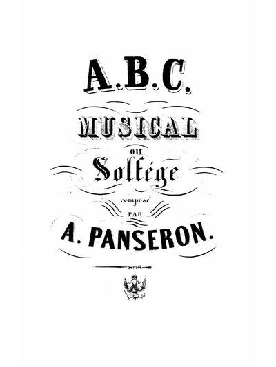 ABC musical ou Solfège