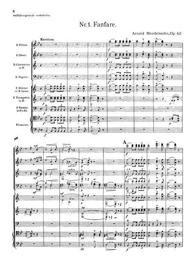 Suite für Blas- und Schlaginstrumente. Op. 62