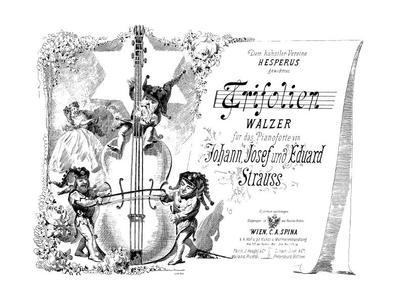 Trifolien Walzer für das Pianoforte