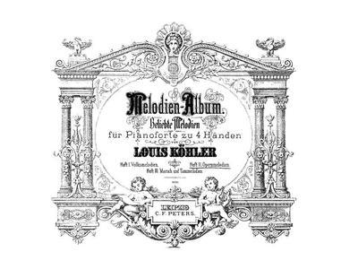 Melodien-Album Beliebte Melodien für Pianoforte zu 4 Händen - H. 2 :: Opernmelodien